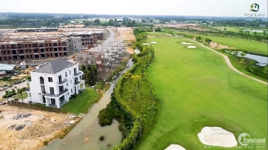 Chỉ 299 triệu đã sở hữu lô đất 85m2 khu sân golf West Lakes & Villas