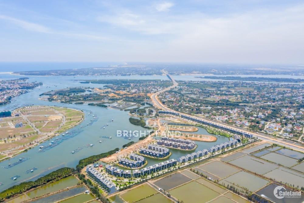 Mở bán block mặt tiền sông Thu Bồn dự án Nam Hội An city từ 2,3 tỷ/lô
