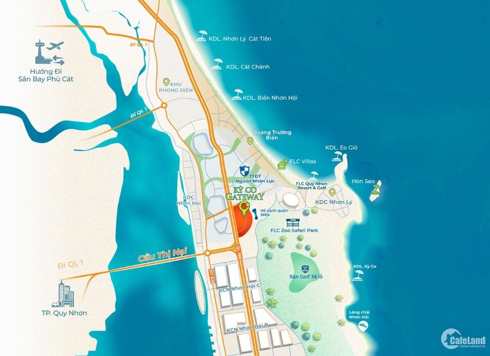 kỳ co gateway đất nền ven biển cửa ngõ du lịch thành phố quy nhơn