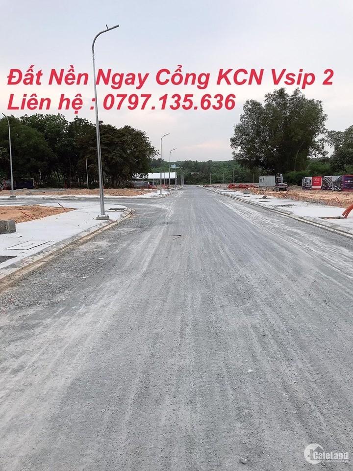 Bung Bán Sản Phẩm Đất Nền Đẹp Nhất Tân Uyên Ngay Đối Diện Cổng KCN Vsip 2