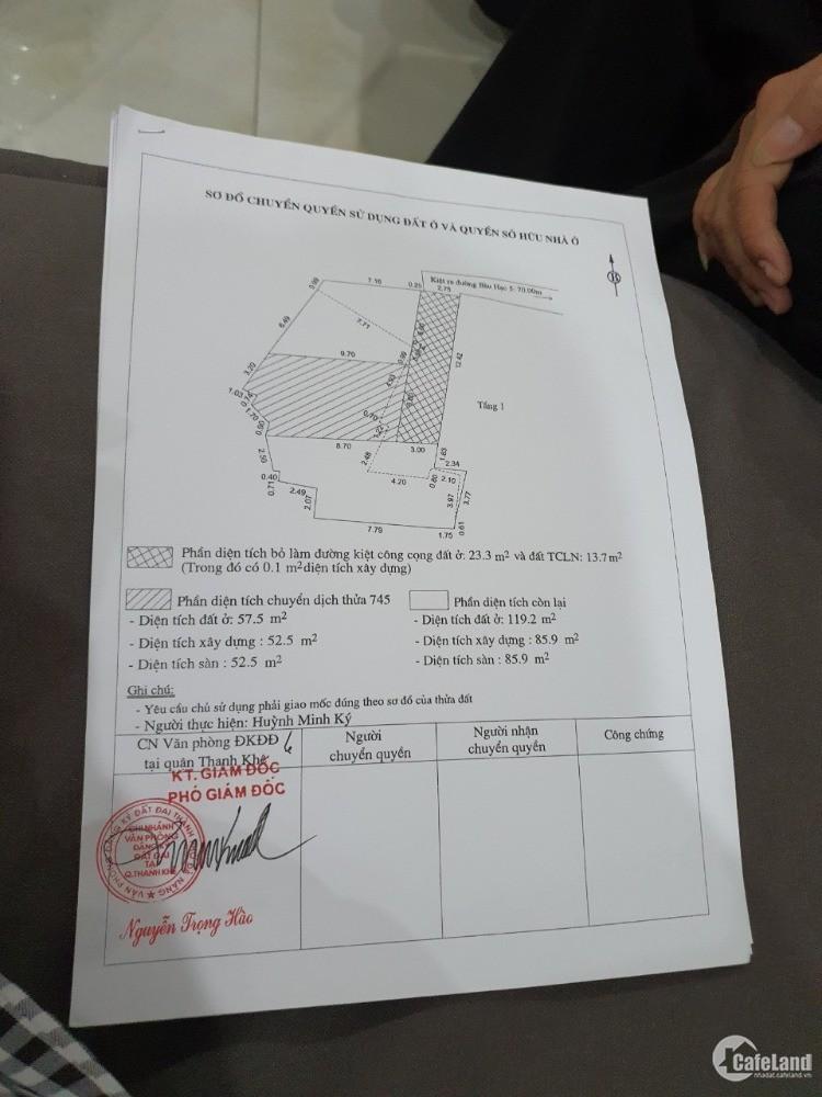 Bán đất hướng Đông khu vực Nguyễn Hoàng giao với Ông Ích Khiêm.