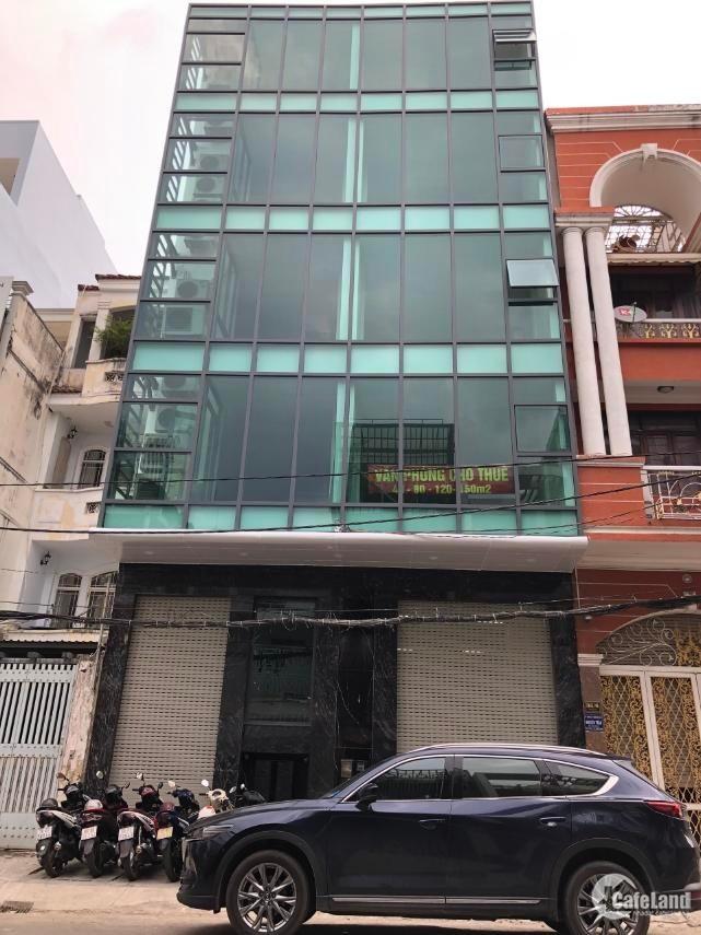 Cho thuê Building D2, P.25, Quận Bình Thạnh, DT: 8x21m, Hầm 5 lầu