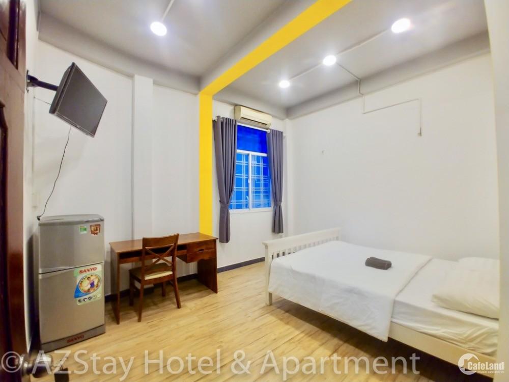 Phòng 20m2 giá rẻ Q1, full tiện nghi hẻm 171 Cô Bắc