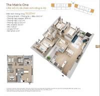 Chỉ 25% GTCH sở hữu ngay căn hộ cc view công viên The Matrix One