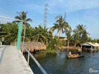 Đất nhà vườn 3 mặt tiền sông lớn tại Phú Đông, Nhơn Trạch
