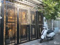 Nhà bán Quận Gò Vấp, - Nhà xây kiên cố - khu dân cư an ninh yên tĩnh Quang trung