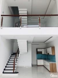 Nhà 1 trệt 1 lửng, 2 phòng ngủ, 2 wc, 90m2 giá chỉ 680tr nhận nhà