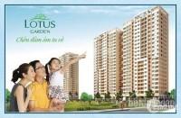 Cho thuê CHCC Lotus Garden, 90m2 - 3PN - 2WC, giá 8 triệu đầy đủ nội thất