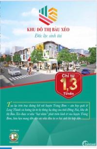 Bán đất nền dự án Khu Đô Thị Bàu Xéo, Trảng Bom - Đồng Nai