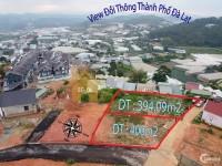 cần bán lô đất hai mặt tiền đồi cao thắng giá đầu tư f1 phường 7 đà lạt