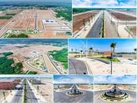 Đất nền sổ đỏ, cơ sở hạ tầng hoàn thiện 90%, đối diện KCN