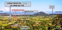 Bán gấp 1.33 hecta đất cạnh café Vườn Liêm khu TTC Tà Cú TM-DV-DL