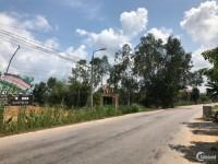 Bán lô đất góc 2 mặt tiền trục đường 27m đã có sổ ở Quế Sơn