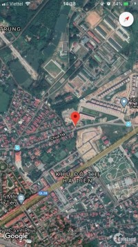 Bán lô đất kinh doanh đường Chùa Hà cũ Vĩnh Yên giá đầu tư.