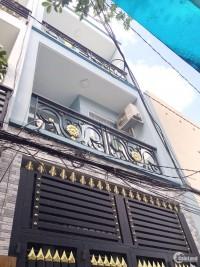 Nhà cho thuê nguyên căn  Nguyễn Thị Tần Phường 2 Quận 8 + Diện tích: 3.6 x 12m