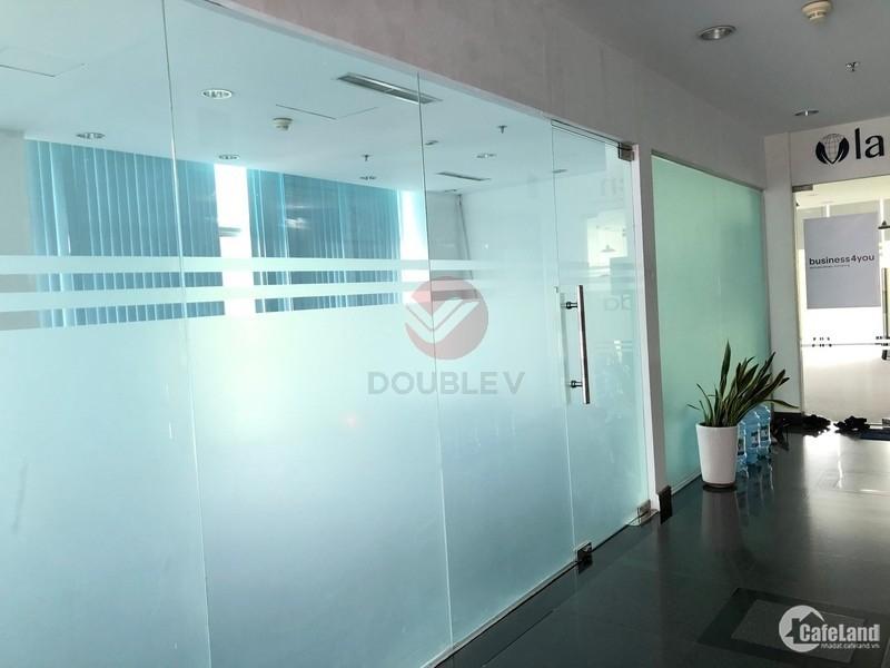 Văn phòng cho thuê Q1 42m2 vuông vức trần sàn hoàn thiện vị trí tốt giá rẻ