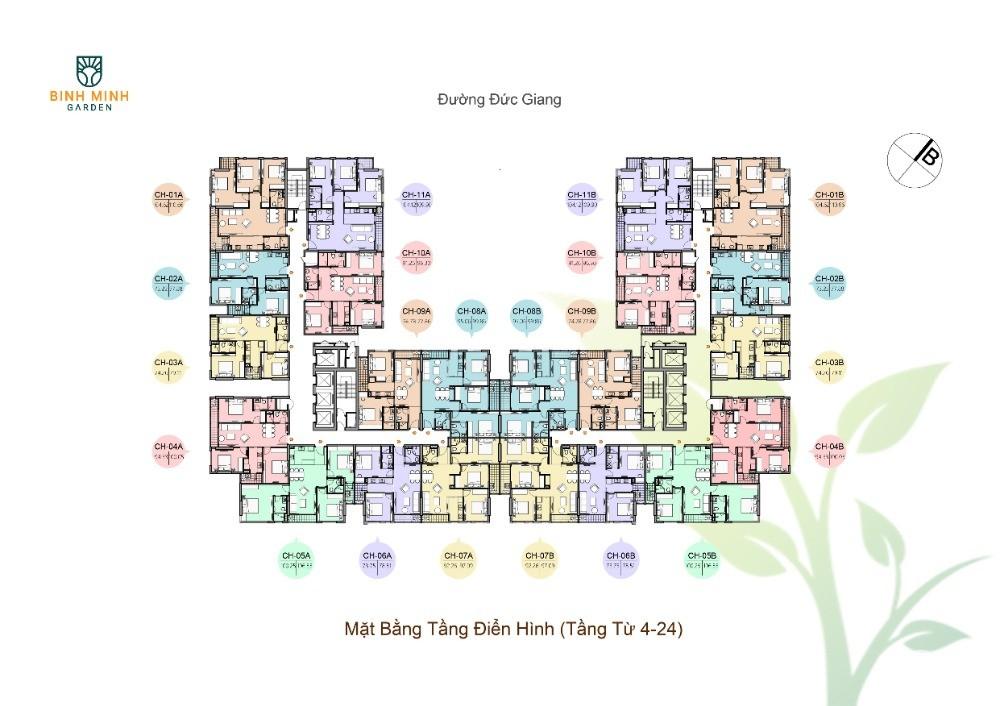 Chỉ từ 250triệu năm nay nhận ngay 1 căn CC Bình Minh Garden trung tâm Long Biên