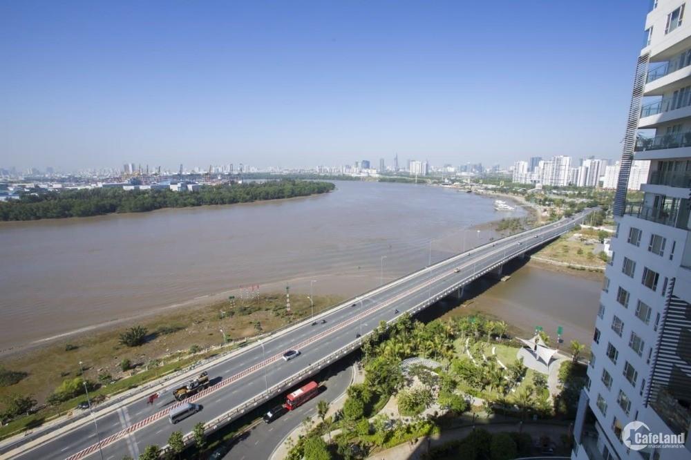 Bán căn hộ 2PN DT lớn 124m2 view panorama sông SG, Q1, Đảo Kim Cương Q1