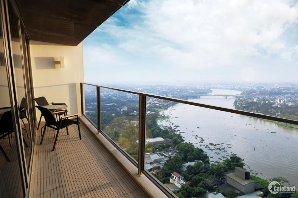 Độc Tôn Mặt Tiền Sông, Không Gian Sống Trong Lành, Chuẩn Singapore, 25T/m2