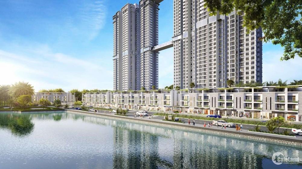 Căn góc 93.8m2 tầng trung 3 phòng ngủ tòa S2 dự án cao cấp Sky Oasis Ecopark