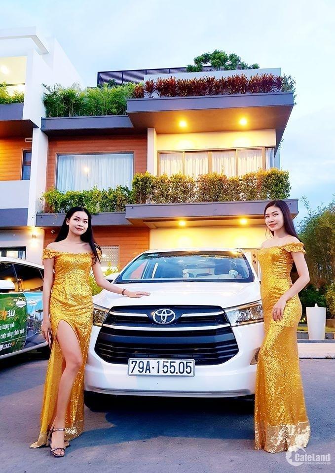 Khu đô thị khép kín đẳng cấp đầu tiên tại Nha Trang .