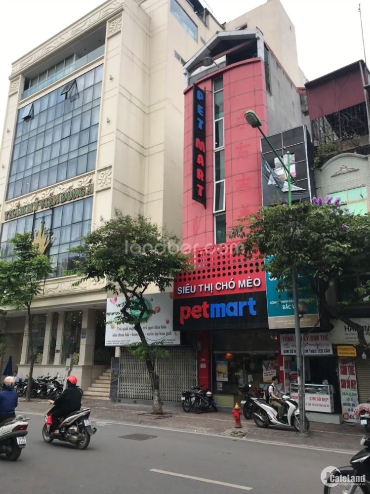 Gia đình cần bán gấp nhà mặt phố Kim Mã (trục chẵn).