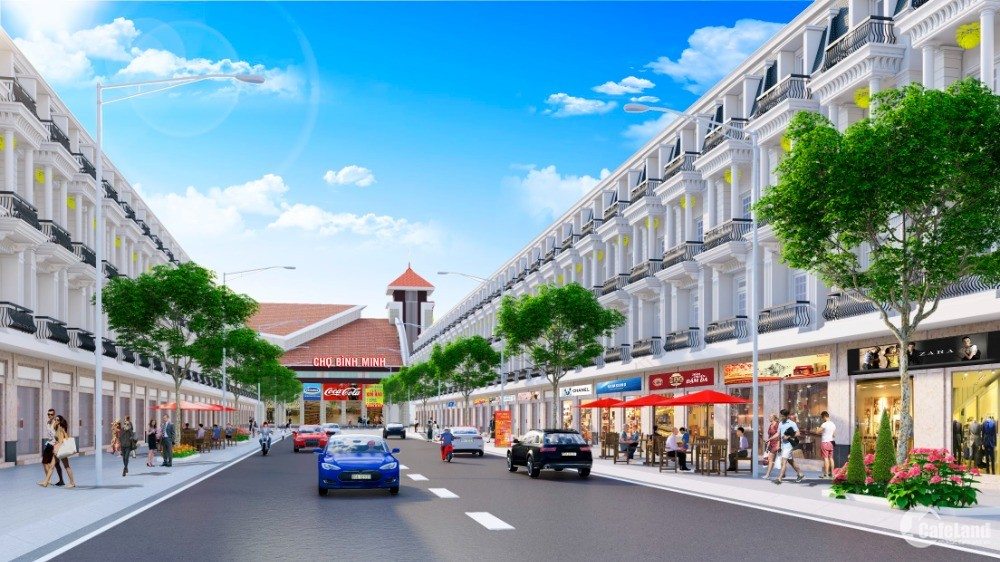 Shophouse trung tâm thương mại Bình Minh - Vĩnh Long
