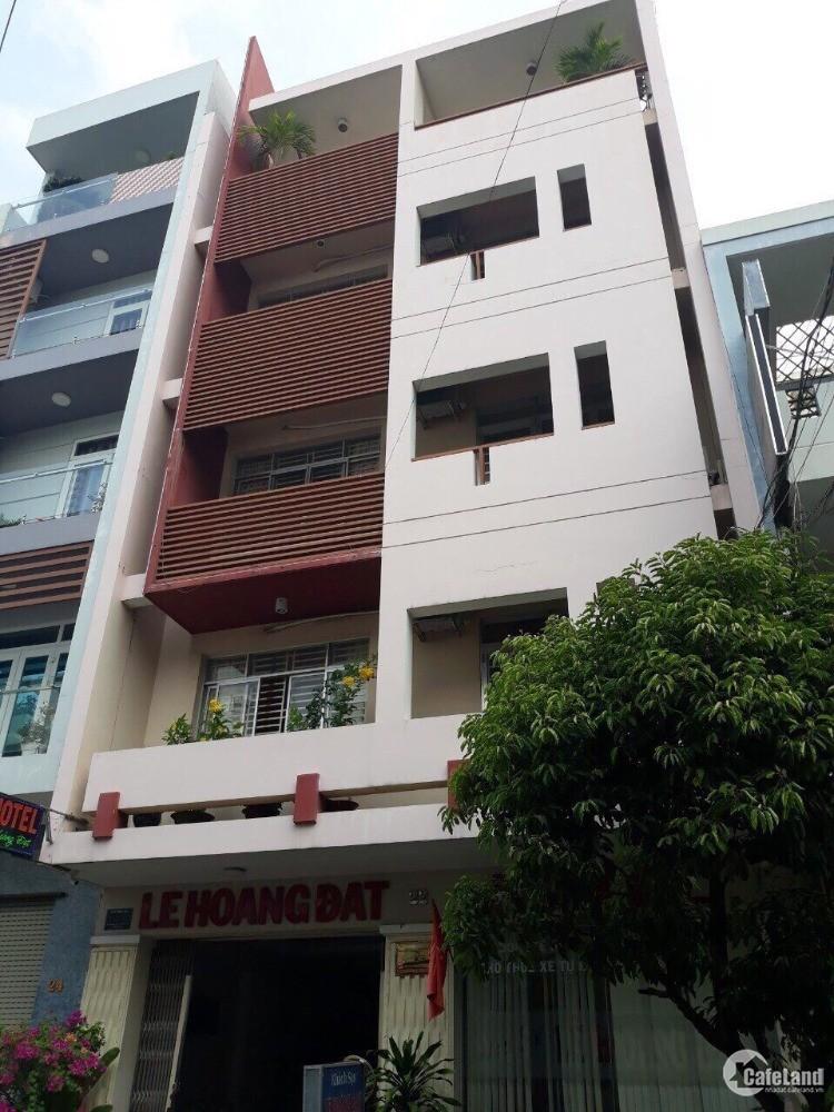 nhà 1 Hầm, trệt 4 lầu đường 37 phường tân quy Q7. 7,7x20m. giá 31 tỷ