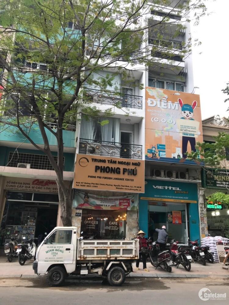 Nhà MT Hoa Hồng, P.2, PN, DT: 4x16m, 1 trệt 3 lầu