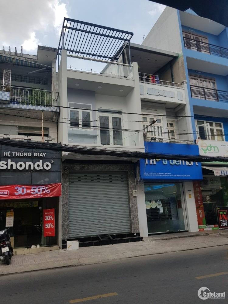 Nhà mặt tiền kinh doanh đường Đồng Đen, DT 4x15m nở hậu 4.4m, 1 lầu+ST. Giá 15tỷ