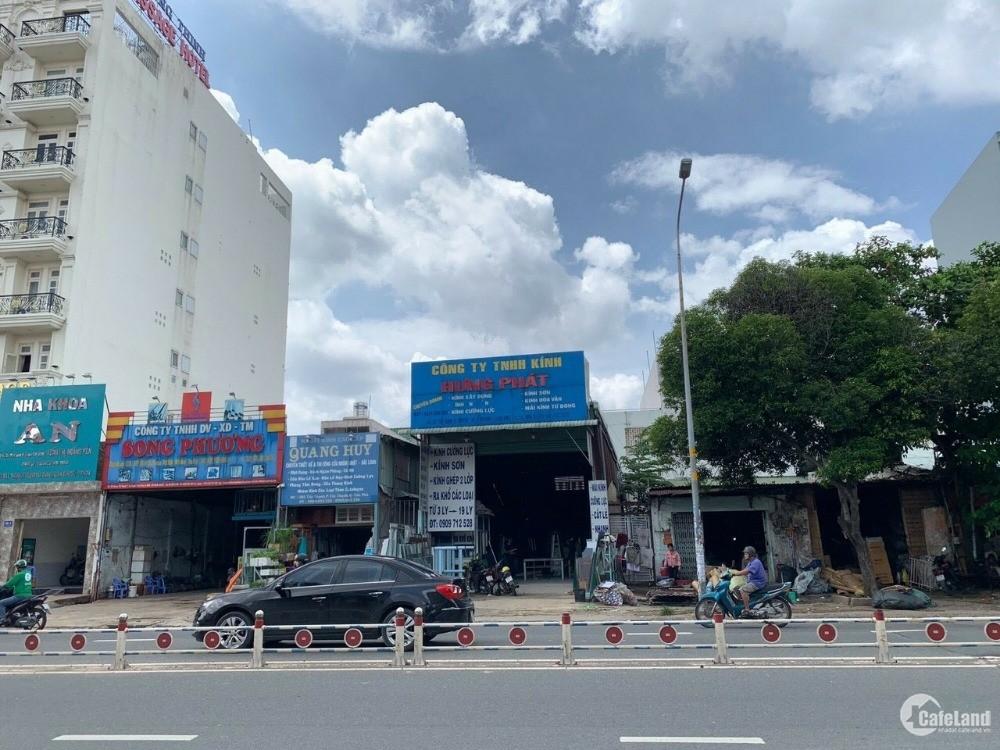 Bán nhà MTKD Tây Thạnh Q.Tân Phú  DT 8.1(8.6)X29 CN 243M2 CẤP 4 GIÁ 26.5 TỶ TL