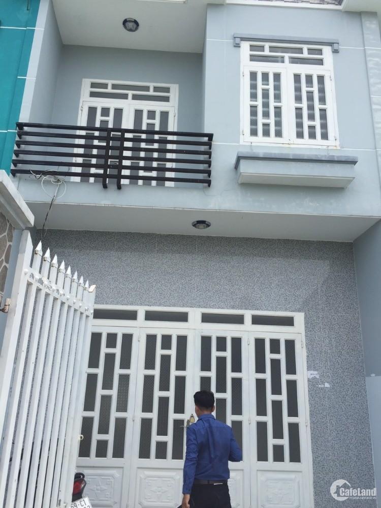 Căn nhà mới xây ngay chợ Rạch Kiến DT 100m2 SHR
