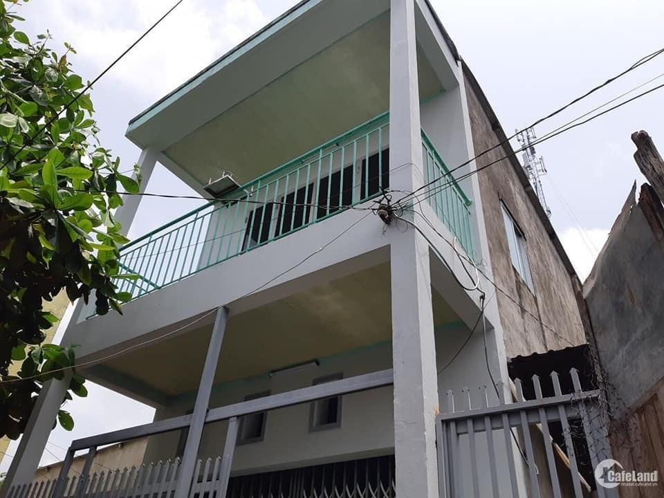 Bán lại căn nhà 1 trệt 1 lầu, Hóc Môn, kích thước 4x18, SHR, bao sang tên