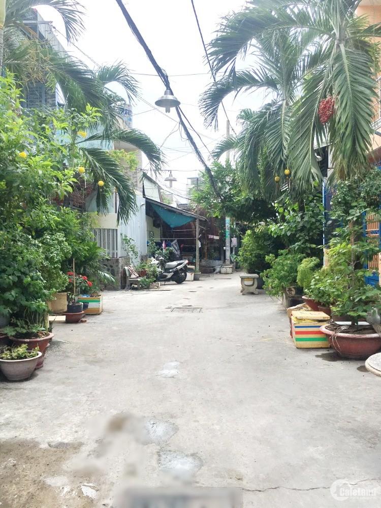 Bán nhà mới hẻm 5m đường Bùi Minh Trực Phường 5 Quận 8 - DT: 4.1x12m - Giá: 3.98