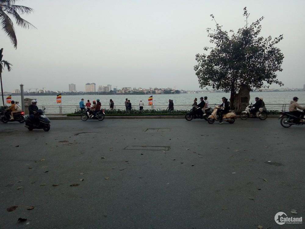 Bán nhà Lạc Long Quân 72m2 gần phố, ngõ hồ Tây xe tải tránh