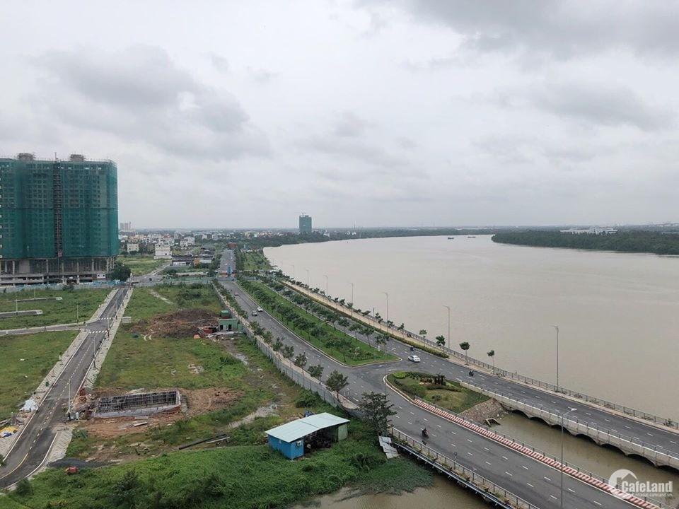 Cho thuê 2PN view sông SG. Full NT cao cấp, 91 m2, 25 triệu, bao PQL.