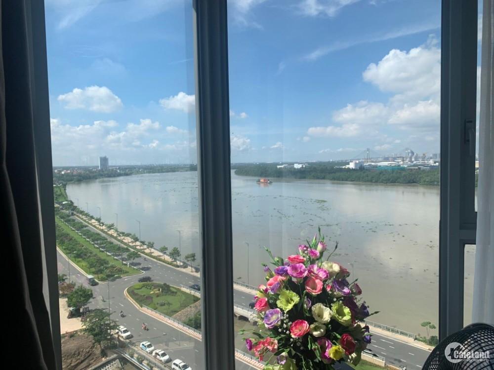 Bán 3PN view panorama sông Sài Gòn, 169 m2, 19.999 tỷ kèm nội thất cao cấp.