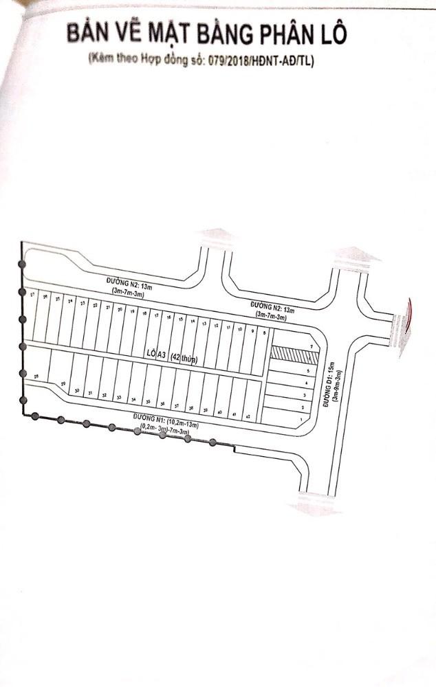 Nắm chủ Bán lô đất dự án khu đô thị Bến Cát Center City 2 Bình Dương