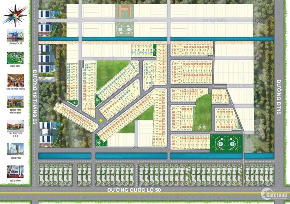 Bán đất nền dự án Residence MT quốc lộ 50.