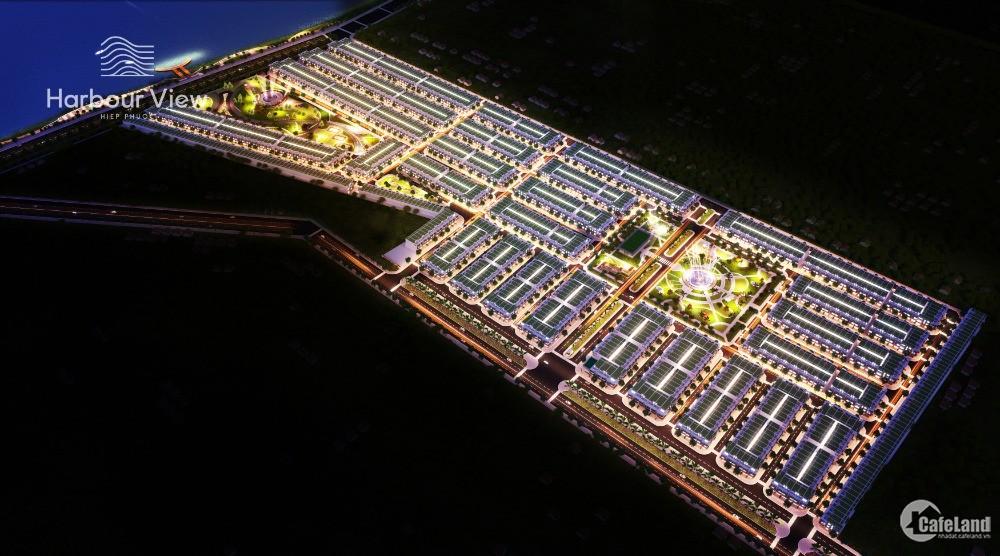 Đất nền sổ đỏ cảng Hiệp Phước MT Nguyễn Văn Tạo giá 1.45 tỷ/nền - TT 24 tháng