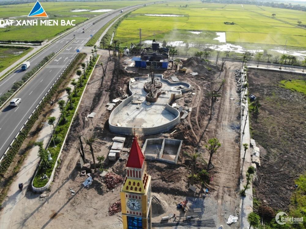 5,8tr/m2 đất ở khu đô thị đẹp nhất Hưng Hà
