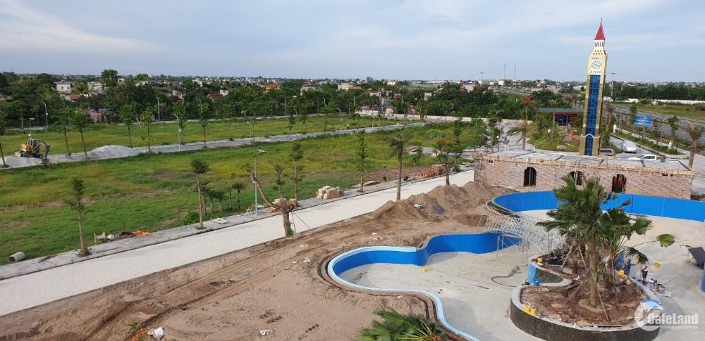 Sở hữu lô đất Sổ Đỏ có Bể Bơi tại Hưng Hà chỉ từ 5,8tr/m2, diện tích 120m2
