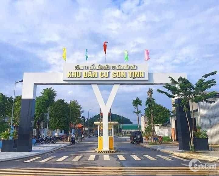 Đất nền giá rẻ KDC Sơn Tịnh - KDC 577