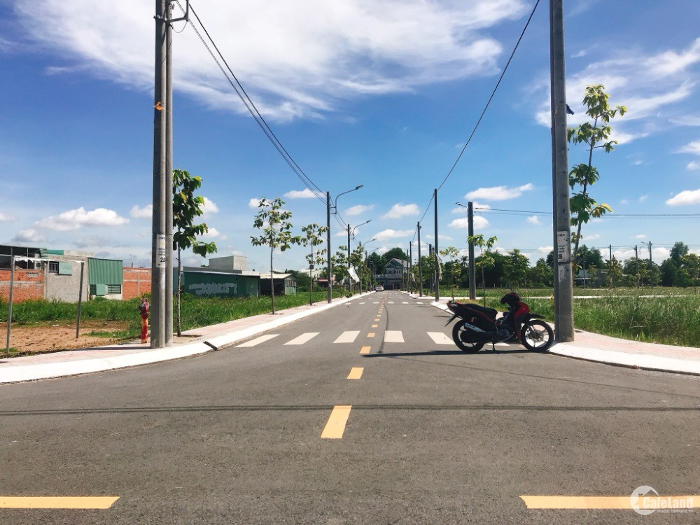 Chỉ 8,5tr/m2 đất nền sổ hồng ngay khu công nghiệp Thuận Đạo, Bến Lức