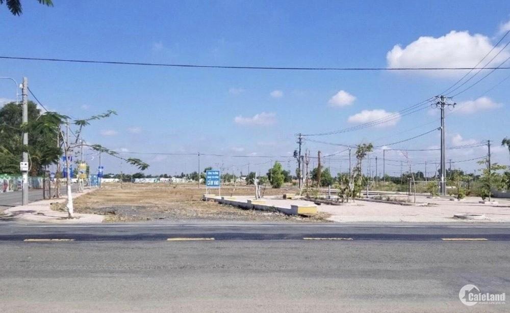 Bán đất mặt tiền đường DT826, đã có sổ hồng