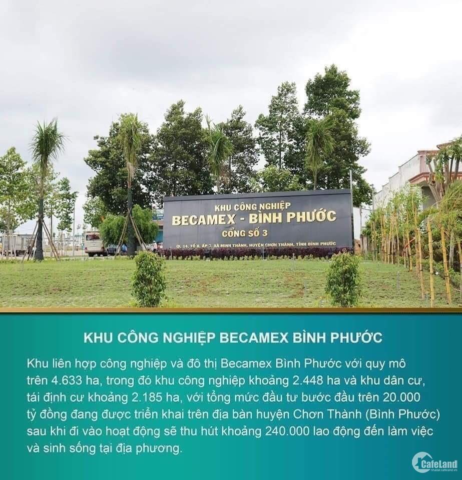 Đất Nền Khu Đô Thị Becamex - KCN Becamex Tại Bình Phước LH: 0866713793