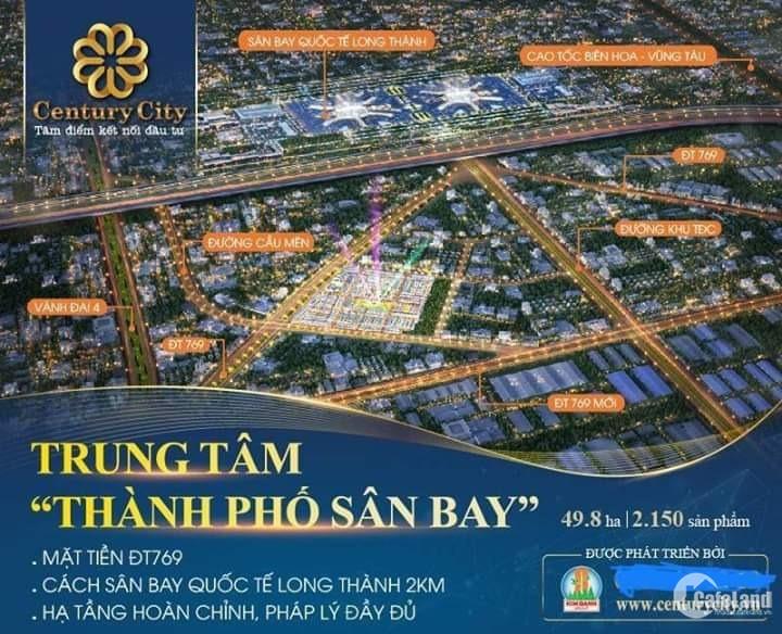 Century City Đất Vàng sân Bay Long Thành