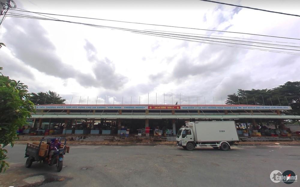 Mở bán lô đất vàng KDC An Sương, Tân Hưng Thuận, Q12 chỉ 18triệu /m2.
