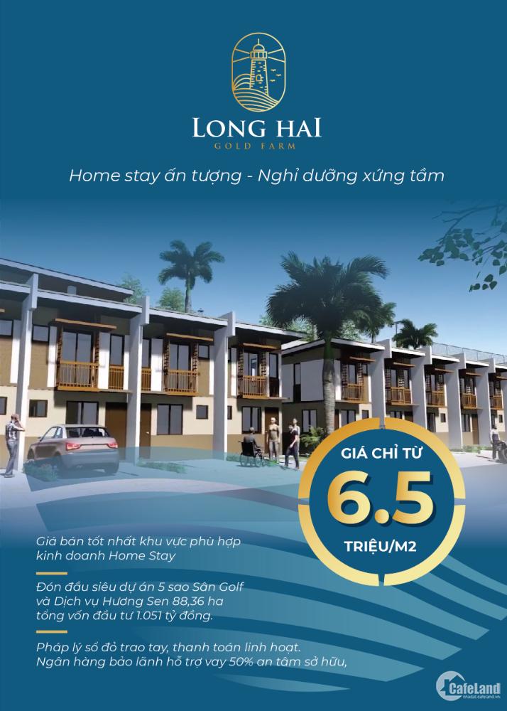 Phát Triển Nhà Đông Nam Bộ nhận booking dự án Long Hải Gold Farm - 0932919479