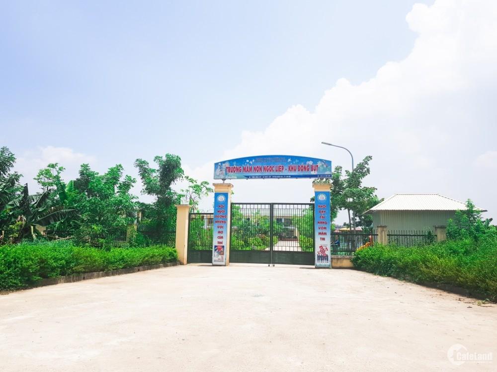 Bán đất Đồng Bụt – Ngọc Liệp – đường đẹp – Vị trí cực đẹp – Gần 3 dự án lớn
